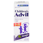 Advil Children's Ibuprofen 200 Mg/ 5mL Oral Suspension USP Grape