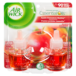 Air Wick Scented Oil Refill Apple Cinnamon Medley 2 x 20mL