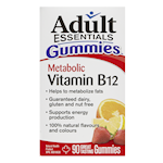 Adult Essentials Gummies Metabolic Vitamin B12 90 Gummies