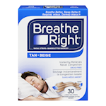 Breathe Right Bandelettes Nasal Grandes Chair 30 Bandelettes