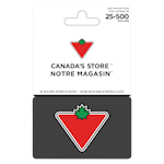 Canadian Tire $25-$500