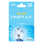 Cineplex Celebration 25 $