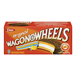 Dare Wagon Wheels Individually Wrapped Marshmallow Cookies Original 9 Cookies