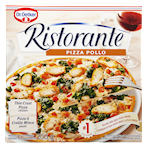 Dr. Oetker Ristorante Thin Crust Pizza Chicken 355g