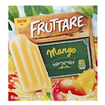 Fruttare Fruit Ice Bars Mango 6 x 60 mL