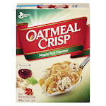 General Mills Oatmeal Crisp Cereal Maple Nut Flavour 460g