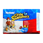 HUGGIES little Swimmers Maillots de Bain Jetables Grand 17 Maillots