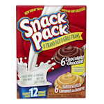 Hunt's Snack Pack Chocolate, Butterscotch 12 Puddings