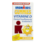 Iron Kids Gummies Vitamine D 60 Gummies