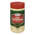 Kraft 100% Parmesan Grated Cheese 250g