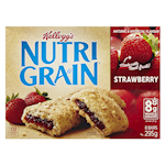 Kellogg's Nutri-Grain Bars Strawberry 295g