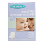 Lansinoh Jetables Compresses Mammaires 60 Compresses