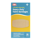 Life Brand Extra Large Heavy-Duty Fabric Bandages 10 Bandages