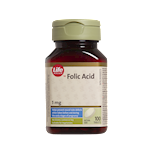 Life Brand Folic Acid 1mg Tablets