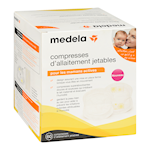 Medela Compresses D'Allaitement Jetables 60 Compresses