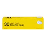 no Name Freezer Bags 30 Bags