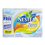 Nestea Zero Iced Tea Lemon 341mL x 12 Cans