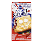 Pillsbury Toaster Strudel Strawberry 6 Pastries 326g