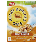 Post Honey Bunches of Oats Honey Roasted Cereal 411g