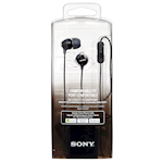Sony Mdrex15Apb Mic & Remote for Smartphones Stereo Headphones Black