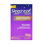 Sleep-Eze Eze-Melts Sleep Aid Diphenhydramine Hydrochloride 25mg x 16 Tablets