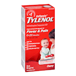 Tylenol Infants Concentrated Drops Acetaminophen Suspension Usp Cherry 24mL