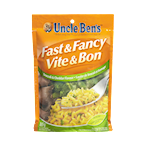 Uncle Ben's Fast & Fancy Rice Dish Brocolli & Cheddar 165g