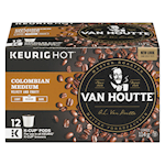 Van Houtte Colombian Medium Roast Coffee Keurig Cups 12 K-Cups