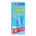Advil Pour Enfants Suspension Orale de 100 Mg/5mL D'Ibuprofène Usp Fruits 100mL