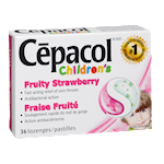 Cepacol® Children's Lozenges Fruity Strawberry