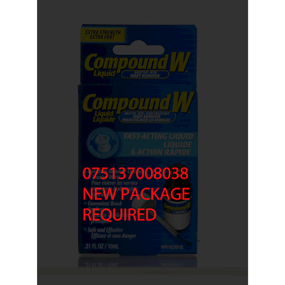 Compound W Extra Strength Salicylic Acid Wart Remover Fast Acting