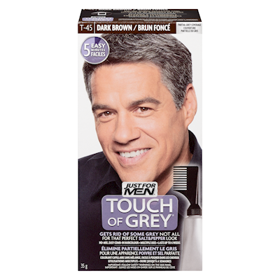 Just for Men Touch of Gray Grey Hair Treatment Dark Brown ...