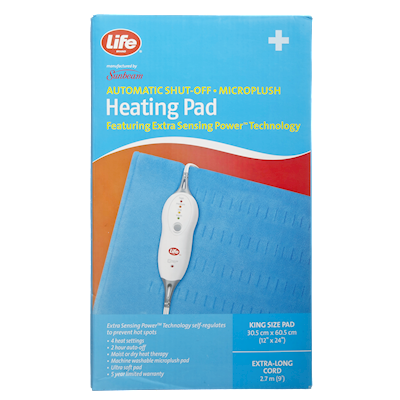 1e398964497 Life Brand Microplush Heating Pad King Size