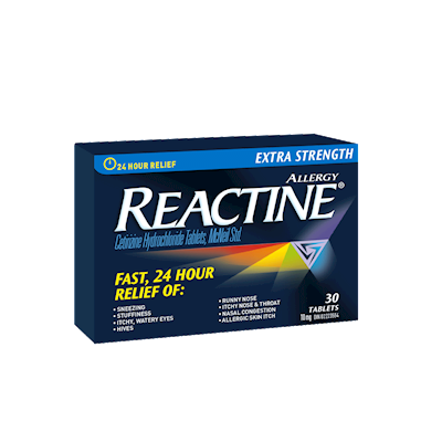 Reactine Extra Strength Non-Drowsy Cetirizine Hydrochloride