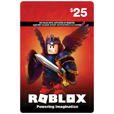 Roblox 25 Gaming Gift Cards Shoppers Drug Mart - robux gift cards 150