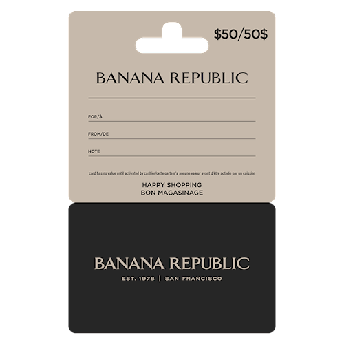 Banana Republic $50