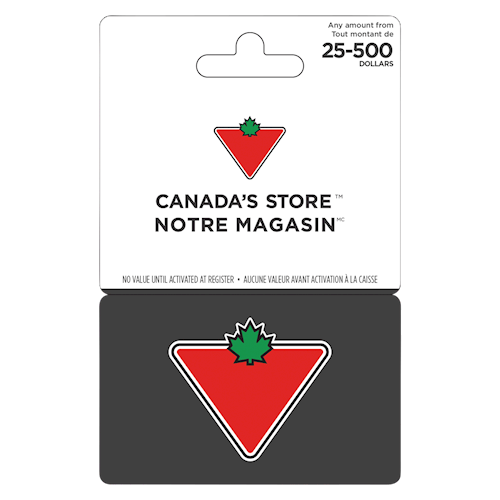 Canadian Tire 25 $ - 500 $