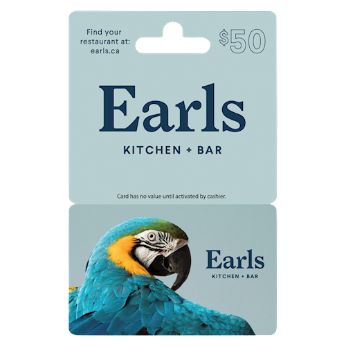 Earls Kitchen + Bar $50
