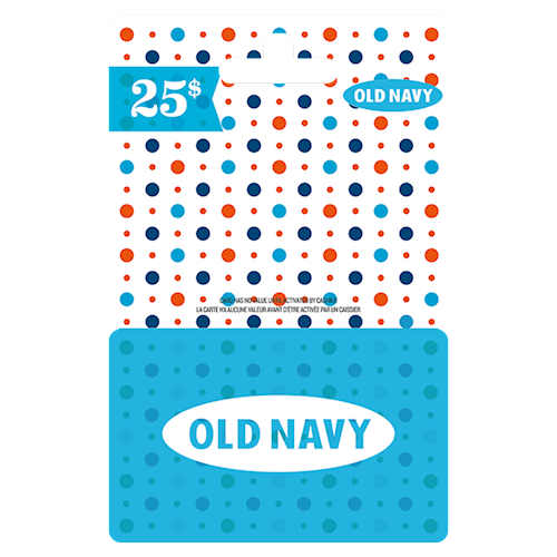 Old Navy 25 $