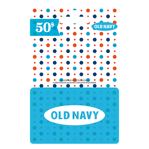 Old Navy 50 $