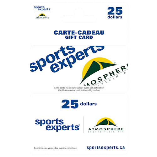 Sports Experts $25