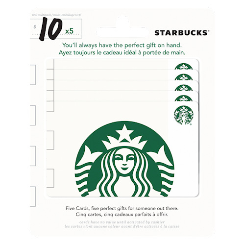 Starbucks $50 Multipack