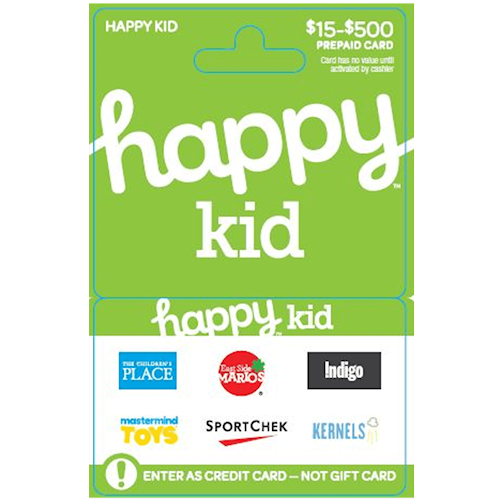 Happy Kid $15-$500