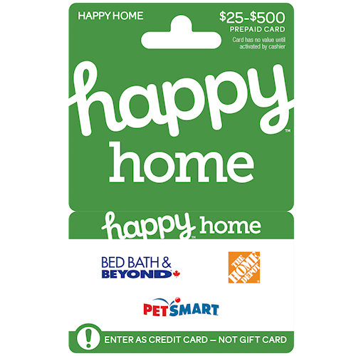 Happy Home $25-$500