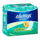 Always Ultra Thin Longues Sans Ailes 20Serviettes
