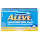 Aleve Naproxen Sodium Tablets 220Mg x 50 Caplets