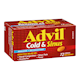 Advil Cold & Sinus Analgesic Decongestant 72 Caplets