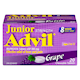 Advil Junior Strength Ibuprofen Tablets Usp 100 mg Grape 20 Chewable Tablets