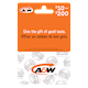 A&W Variable $10-$200