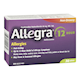 Allegra 12 Hour Allergies and Nasal Congestion Non-Drowsy 36 Tablets